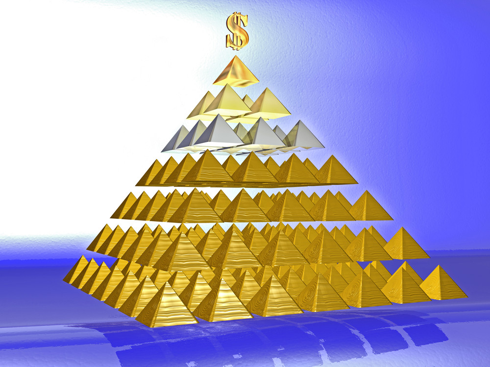 Осторожно, финансовая пирамида!