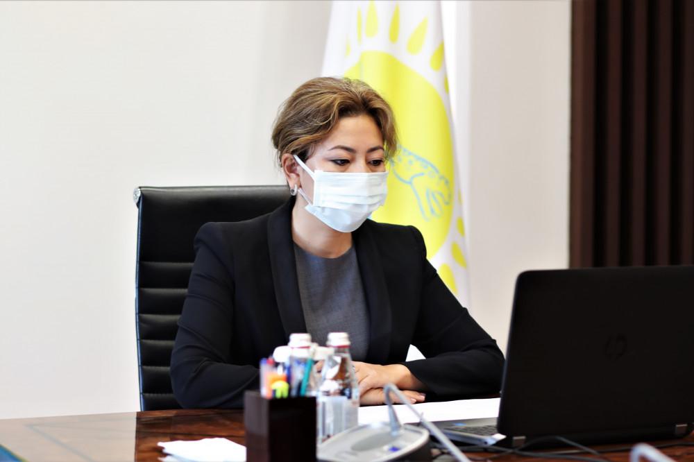Председатель Агентства Мадина Абылкасымова приняла граждан в общественной приемной партии Nur Otan